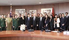 Đối thoại Chiến lược Ngoại giao và Quốc phòng Việt Nam - Ô-xtrây-li-a lần thứ 5