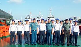 Trung tâm Nghiên cứu chiến lược/ Quân đội quốc gia Indonesia thăm, làm việc tại BTL Vùng Cảnh sát biển 1