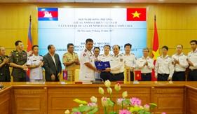 Hội nghị song phương giữa CSB Việt Nam và UBQG An ninh hàng hải Campuchia