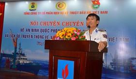 BTL Vùng Cảnh sát biển 3 tuyên truyền biển, đảo tại Tổng công ty cổ phần dịch vụ kỹ thuật dầu khí