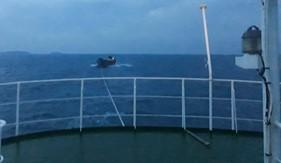 Tàu CSB 6003 cứu nạn thành công tàu vận tải trên vùng biển Phú Quốc