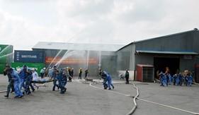 BTL Vùng Cảnh sát biển 1 tham gia Diễn tập phòng chống thiên tai  và tìm kiếm cứu nạn