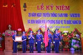 BTL Vùng Cảnh sát biển 1 kỷ niệm 20 năm Ngày Truyền thốngvà đón nhận Huân chương Bảo vệ Tổ quốc hạng Ba