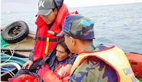 Tàu CSB 4038 cứu nạn kịp thời thuyền viên Ấn Độ bị nạn trên biển