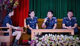 BTL Vùng Cảnh sát biển 3: Giao lưu tập thể, cá nhân điển hình tiên tiến