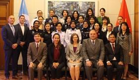 Tập huấn an ninh hàng hải khu vực về điều tra cho nữ sĩ quan