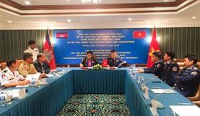 Cảnh sát biển Việt Nam và Ủy ban quốc gia an ninh hàng hải Campuchia: Họp rút kinh nghiệm về cơ chế liên lạc đường dây nóng