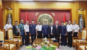 Tư lệnh Cảnh sát biển Việt Nam tiếp và làm việc với Tư lệnh Cảnh sát biển Indonesia