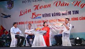 Giao lưu, liên hoan văn nghệ chào mừng kỷ niệm 15 năm thành lập Bộ Tư lệnh Vùng Cảnh sát biển 2