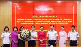 Hội phụ nữ Phòng Tài chính, Văn phòng, Quan hệ Quốc tế tổ chức giao lưu tuyên truyền viên năm 2019