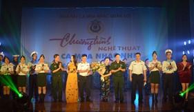 Nhà hát Ca múa nhạc Quân đội biểu diễn tại Bộ Tư lệnh Vùng Cảnh sát biển 1