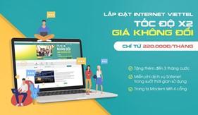 Chào tháng 8 - Xả láng ưu đãi khi lắp đặt internet Viettel