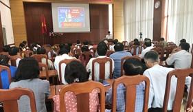 BTL Vùng Cảnh sát bển 3 tuyên truyền biển đảo cho hơn 100 cán bộ Ban Tuyên giáo và báo cáo viên tỉnh Bà Rịa - Vũng Tàu