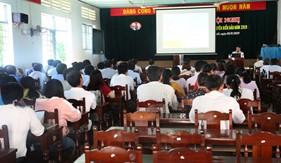 BTL Vùng Cảnh sát biển 3 tuyên truyền biển, đảo và Luật Cảnh sát biển năm 2018 tại tỉnh Bình Thuận và Tp. Hồ Chí Minh