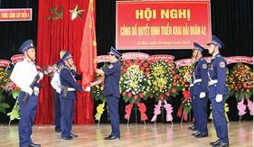 Cảnh sát biển triển khai các đơn vị mới, từng bước hoàn thiện  tổ chức biên chế, đáp ứng yêu cầu nhiệm vụ trong giai đoạn mới