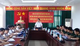 Đoàn công tác Bộ Tổng Tham mưu thăm, kiểm tra tại Bộ Tư lệnh Vùng Cảnh sát biển 3