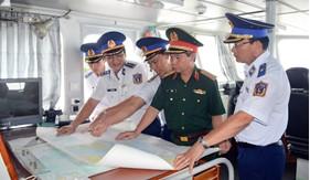 Bộ Quốc phòng kiểm tra kết quả thực hiện nhiệm vụ tại Bộ Tư lệnh Vùng Cảnh sát biển 1