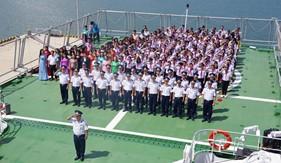 Hải đoàn 21 tuyên truyền biển đảo cho giáo viên, học sinh