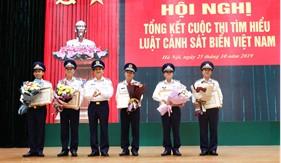"""Tổng kết cuộc thi """"Tìm hiểu Luật Cảnh sát biển Việt Nam năm 2018"""""""