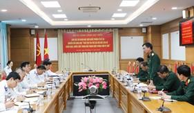 Đoàn cán bộ Học viện Quốc phòng khảo sát, nghiên cứu thực tế tại Bộ Tư lệnh Cảnh sát biển