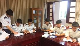 Tuổi trẻ Bộ Tư lệnh Vùng Cảnh sát biển 2 hưởng ứng Ngày Pháp luật Việt Nam