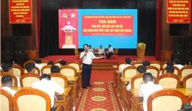 Sôi nổi Ngày Pháp luật Việt Nam năm 2019 tại BTL Vùng Cảnh sát biển 4