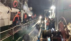 Bộ Tư lệnh Vùng Cảnh sát biển 1 cấp cứu thuyền viên gặp nạn trên biển