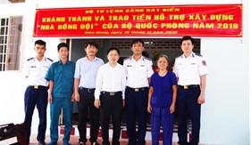 """Đoàn Đặc nhiệm PCTP ma túy số 4 khánh thành và bàn giao """"Nhà đồng đội"""""""