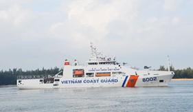 Tàu CSB 8002 lên đường thăm và giao lưu với Lực lượng Bảo vệ bờ biển Nhật Bản