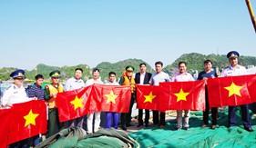 Bộ Tư lệnh Vùng Cảnh sát biển 1 phối hợp tuyên truyềnLuật Cảnh sát biển Việt Nam tại Hải Phòng