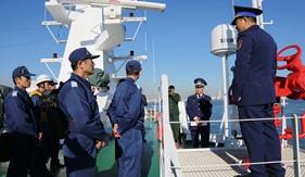 TàuCSB8002 Lực lượngCảnh sát biển Việt Nam thăm Nhật Bản
