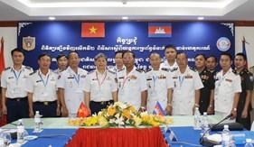 Hội nghị rút kinh nghiệm thực hiện Nghị định thư về cơ chế liên lạc đường dây nóng với Ủy ban quốc gia An ninh hàng hải Campuchia