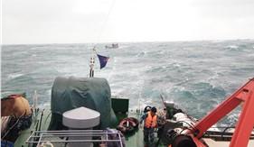 Bộ Tư lệnh Vùng Cảnh sát biển 4 cứu nạn thành công tàu cá QN-98358