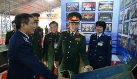 """Bộ Tư lệnh Cảnh sát tham gia triển lãm """"Thành tựu xây dựng nền quốc phòng toàn dân, xây dựng lực lượng vũ trang nhân dân"""" và Hội chợ Việt Bắc năm 2019"""