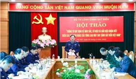 Hội thảo Thông tư quy định về màu sắc, cờ hiệu và dấu hiệu nhận biết trên các bộ phận của từng loại máy bay Cảnh sát biển Việt Nam