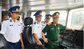 Bộ Tổng Tham mưu kiểm tra công tác sẵn sàng chiến đấu tại Bộ Tư lệnh Vùng Cảnh sát biển 1