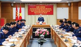 """Cảnh sát biển quán triệt và thực hiện Nghị quyết 33-NQ/TW của Bộ Chính trị (khóa XII) về """"Chiến lược Bảo vệ biên giới quốc gia"""""""