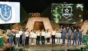 """Trung tâm Đào tào và Bồi dưỡng nghiệp vụ Cảnh sát biển ghi hình Chương trình """"Chiến sĩ 2020 - Đồng đội"""""""