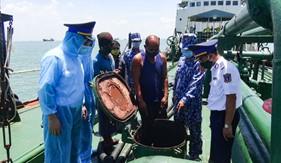Tạm giữ tàu nước ngoài vận chuyển gần 2 triệu lít dầu DO trái phép trên vùng biển Việt Nam