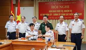 Bàn giao chức vụ, nhiệm vụ Bí thư Đảng ủy - Chính ủy Cảnh sát biển