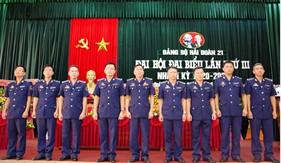 Đảng bộ Hải đoàn 21 tổ chức thành công Đại hội đại biểu lần thứ III nhiệm kỳ 2020-2025