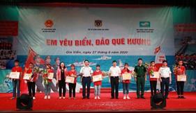 """Sôi nổi cuộc thi """"Em yêu biển, đảo quê hương"""" tại Gia Viễn, Ninh Bình"""