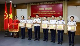 Tuyên dương điển hình tiên tiến phụ nữ Cảnh sát biển giai đoạn 2015 - 2020