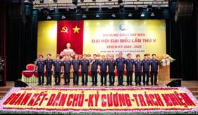 Thư của Đại hội Đại biểu Đảng bộ Cảnh sát biển lần thứ V, nhiệm kỳ 2020-2025 gửi cán bộ, chiến sĩ Lực lượng Cảnh sát biển