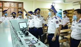 Chính ủy Cảnh sát biển thăm, kiểm tra, làm việc với Trung tâm Đào tạo và Bồi dưỡng nghiệp vụ Cảnh sát biển