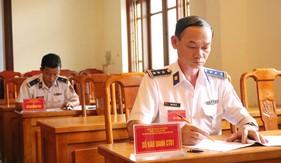 Trung tâm Đào tạo và bồi dưỡng nghiệp vụ Cảnh sát biển tổ chức Hội thi cán bộ giảng dạy chính trị giỏi năm 2020