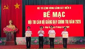 Bộ Tư lệnh Vùng Cảnh sát biển 3 tổ chức thành công Hội thi cán bộ giảng dạy chính trị giỏi năm 2020