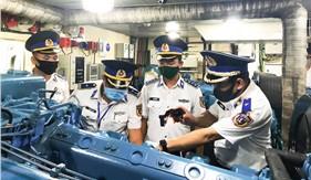 Bộ Tư lệnh Vùng Cảnh sát biển 3 tổ chức Hội thi tàu, xe tốt - Hội thao huấn luyện năm 2020