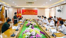 Văn phòng Tổng cục Chính trị làm việc tại Bộ Tư lệnh Vùng Cảnh sát biển 1