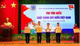 Tuổi trẻ Bộ Tư lệnh Vùng Cảnh sát biển 3 thi tìm hiểu về Luật Cảnh sát biển Việt Nam